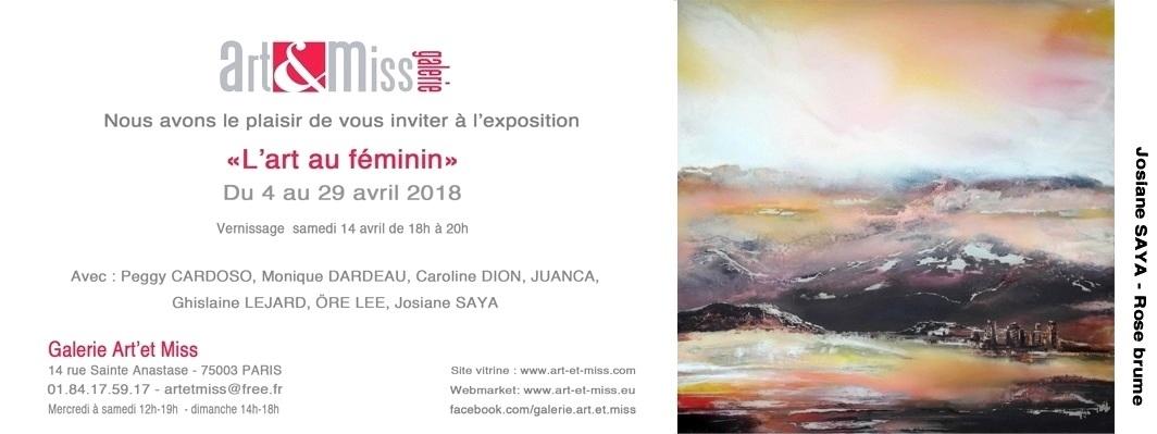 INVIT GALERIE ART MISS